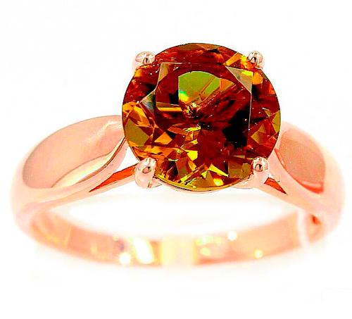 Кольцо камень Султанит