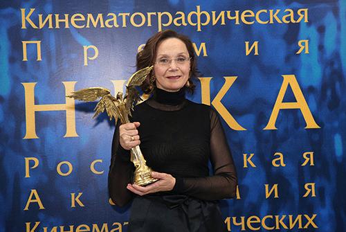 Ирина Кученко лауреат 29-ой церемонии «Ника»