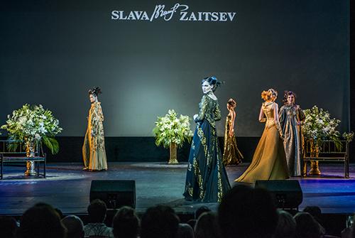 Спектакль моды «Совершенство игармония» вчесть днярожденья Вячеслава Зайцева
