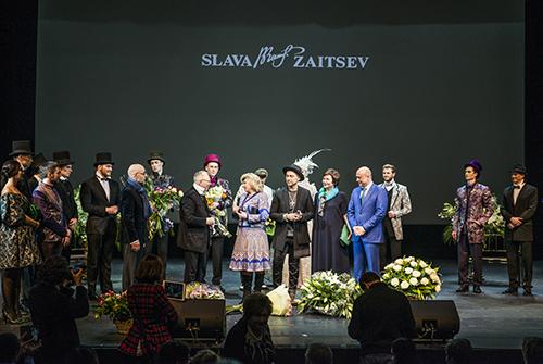 Вячеслав Зайцев принимает поздравления сднем рождения