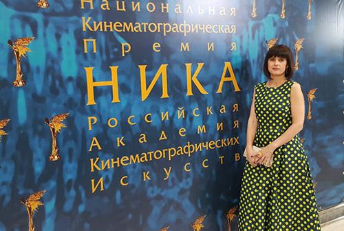 Владелица ювелирного холдинга «Галерея самоцветов» Маргарита Денисова на29-ой церемонии кинопремии «Ника»