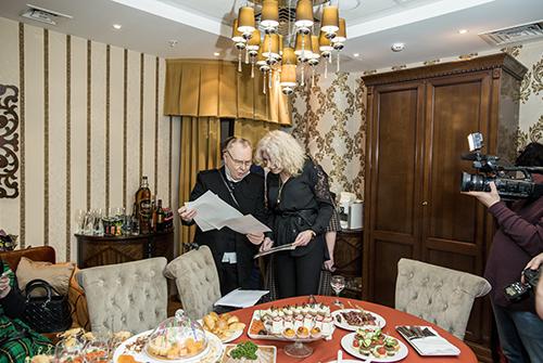 Вячеслав Зайцев отмтил свой день рождения