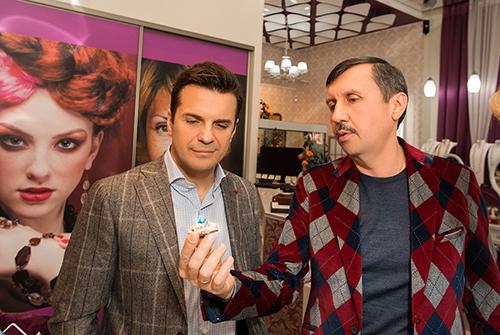 Сергей Астахов ипрезидент ювелирного холдинга «Галерея самоцветов» Владислав Денисов