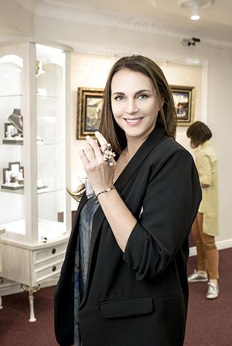 Татьяна Лютаева обожает украшения ювелирного дома DENISOV & GEMS