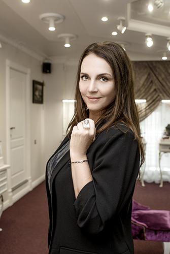 Татьяна Лютаева частая гостья Vip-салона «Галерея самоцветов» наАрбате