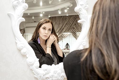Татьяна Лютаева вVIP-cалоне «Галерея самоцветов»
