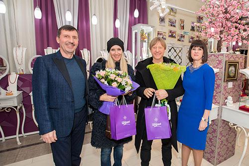 Влад Денисов, Марина иДмитрий Харатьян, Рита Денисова