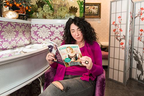 Лолита Милявская частый гость в«Галерее самоцветов»