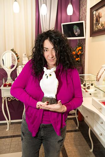 Лолита Милявская частая гостья в«Галерее самоцветов»