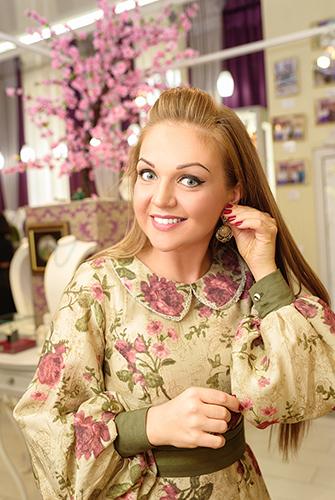 Марина Девятова обожает эксклюзивные украшения отювелирного дома DENISOV & GEMS