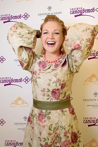 Марина Девятова выбирает украшения только вГалерее Самоцветов