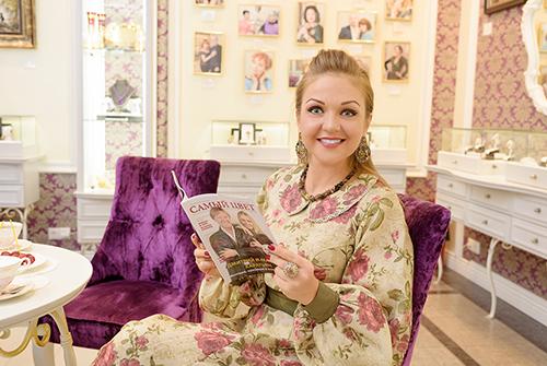 Марина Девятова выбирает «Галерею самоцветов»