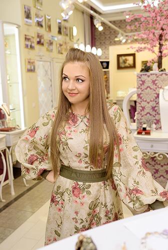 Марина Девятова любит бывать вГалерее самоцветов