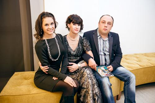 Рита Денисова иЯнаПавлова навыставке «Галереи самоцветов»