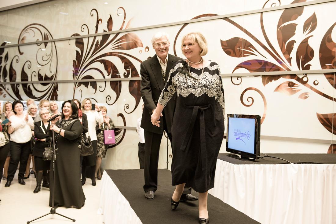 Борис Щербаков напоказе эксклюзивной коллекции Надежды Бабкиной иювелирного холдинга «Галерея самоцветов»