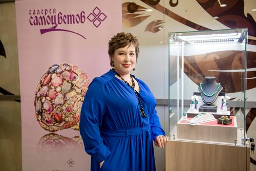 Ольга Будилина, управляющая региональной сетью холдинга «Галерея самоцветов»