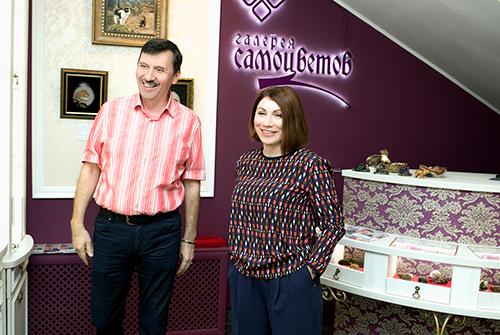 Роза Сябитого ивладелец ювелирного холдинга «Галерея самоцветов» Владислав Денисов