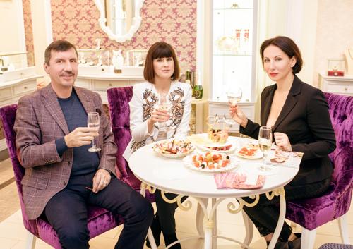 Алика Смехова, Маргарита иВладислав Денисовы