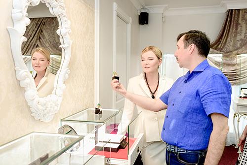 Лариса Вербицкая иоснователь бренда DENISOV & GEMS Влад Денисов