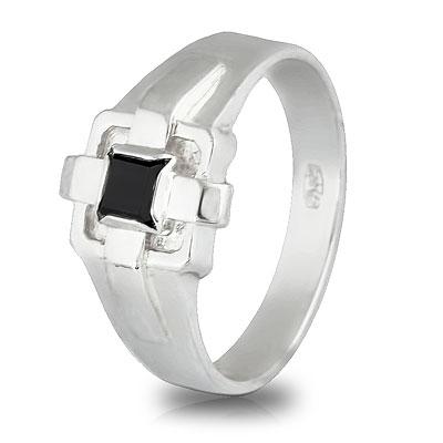 Перстень мужской из серебра TNR22-02Gr